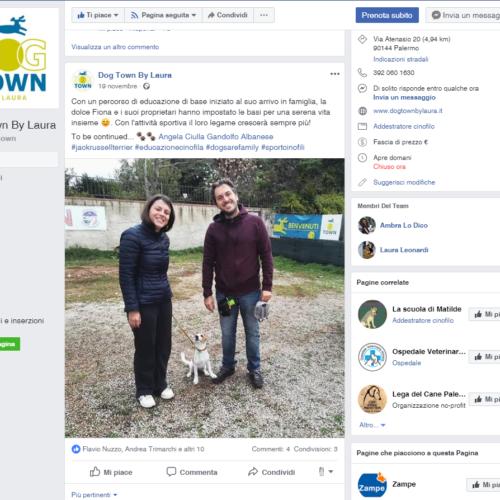 Facebook Dog Town
